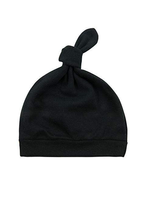 Durio Baby Hats Newborn Baby Beanie Knot Baby Boy Hat Soft Baby Girl Beanies Gifts for Baby Newborn Fall Winter Caps