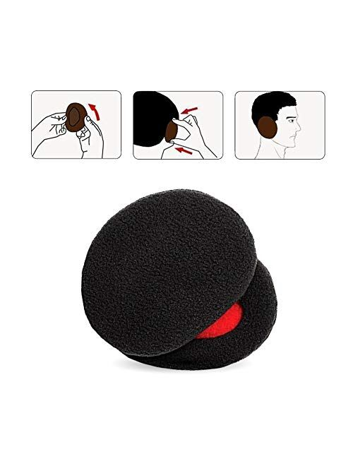 AgoKud Earmuffs, Ear-bags Bandless Ear Warmers Ear Covers for Women & Men