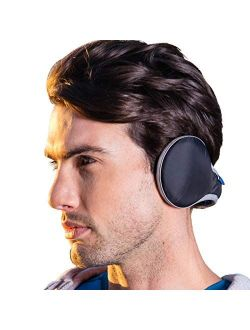 Ear muffs For Men Women Winter Ear Warmers Adjustable Waterproof Earmuffs Unisex Foldable Faux Fleece Fur Ear Cover