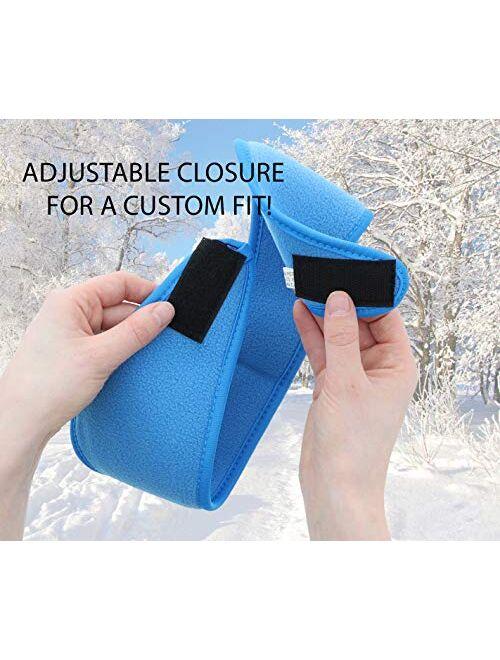 Fleece Ear Muff Head Wrap with Closure Winter Earmuff - Lots of Colors