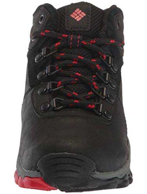 Columbia Youth Newton Ridge Leather Boot, Waterproof