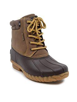 Kids Youth Waterproof Duck Boot Winter Shoe |boys-girls| (little Kid/big Kid)