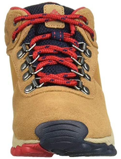 Columbia Youth Newton Ridge Suede Boot, Waterproof, High-Traction Grip