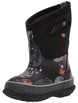 BOGS Unisex-Child Classic High Waterproof Insulated Rubber Neoprene Rain Boot