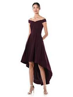 Women's Sweetheart Off-the-shoulder High Low Gown