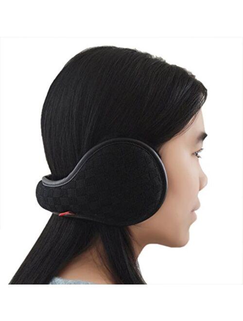 Winter Is Coming – Get Your Ear Warmer Ready – Back Worn Stylish Cozy Earmuff