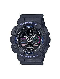 S' Casio G-shock S-series Grey Resin Band Watch Gmas140-8a