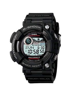 Men's Gwf1000 Frogman Black Solar Atomic G-shock Watch