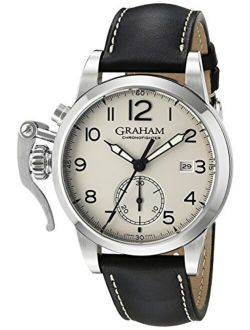 Graham Men's 2CXAS.S01A Analog Display Swiss Automatic Brown Watch