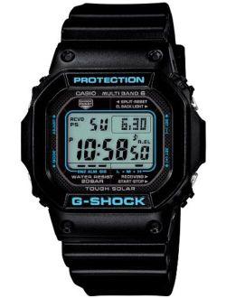 G-shock Black X Blue Series (gw-m5610ba-1jf) 6 Multibands Solar Powered Men's Watch