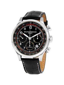 Baume & Mercier Men's BMMOA10084 Capeland Analog Display Swiss Automatic Black Watch