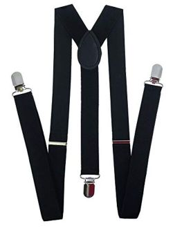 Navisima Women Adjustable Elastic Y Back Style Suspenders With Strong Metal Clips
