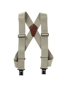 """2 inch Perry Outback """"Comfort"""" Suspenders (Wear Like a Vest) (Tan,Regular size)"""