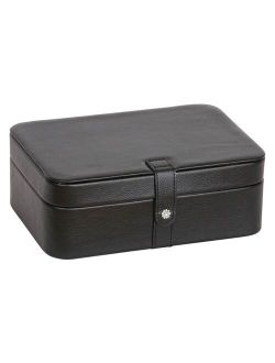 Lila 48-Section Jewelry Box in Black