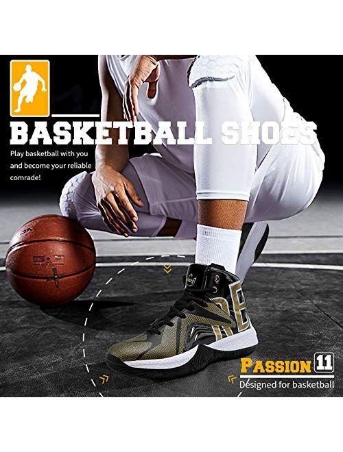 ASHION Big/Youth Kids' Cool Basketball Shoe Sports Trainers