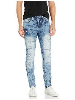Men's 9180 Skinny Utility Fashion Denim Pants