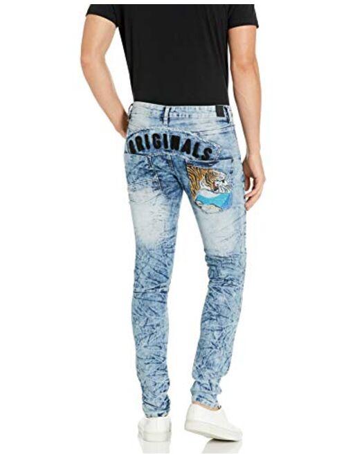 Southpole Men's 9180 Skinny Utility Fashion Denim Pants