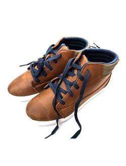 Casual High Top Sneaker (little Boys & Big Boys) Brown