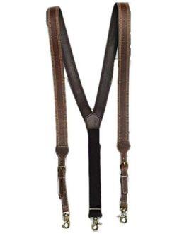 Nocona Belt Co. Men's Triple Stitched Suspenders - N2712402