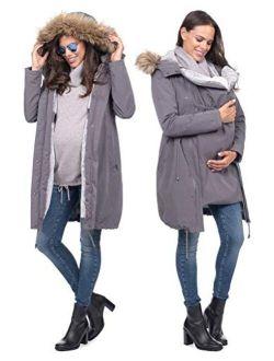 Seraphine Womens Casual Parka Maternity Coat