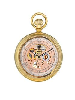 Charles-Hubert, Paris Classic Collection Mechanical-Hand-Wind Pocket Watch (Model: DWA017)
