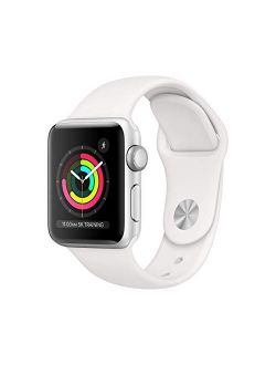 Watch Series 3 (gps, 38mm) - Silver Aluminum Case With White Sport Band (renewed)