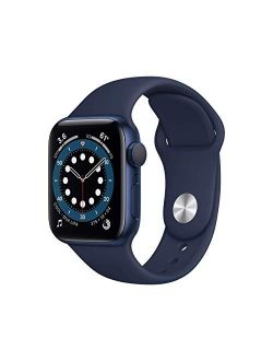 Watch Series 6 (gps, 44mm) - Blue Aluminum Case With Deep Navy Sport Band (renewed)
