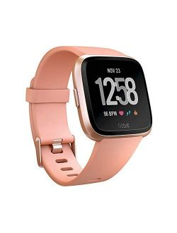 Versa Smart Watch, Peach/rose Gold Aluminium, One Size (s & L Bands Included)