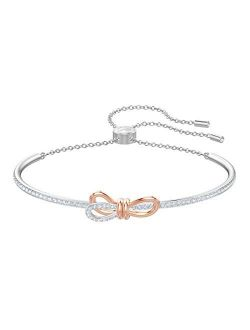 Women's Lifelong Bow Jewelry Collection, Clear Crystals