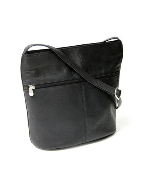 ROYCE New York Royce Lightweight Shoulder Bag in Colombian Genuine Leather