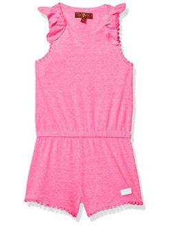 7 For All Mankind Girls' Cami Romper