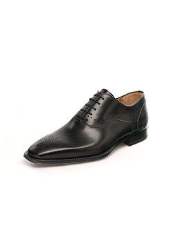 Praga Black Men's Lace-up Oxford Shoes