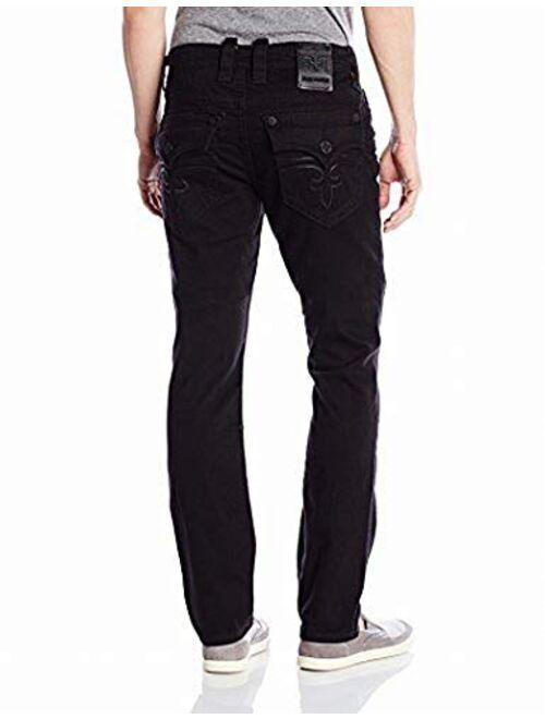 Rock Revival Men's Alternative Straight Fit Jean