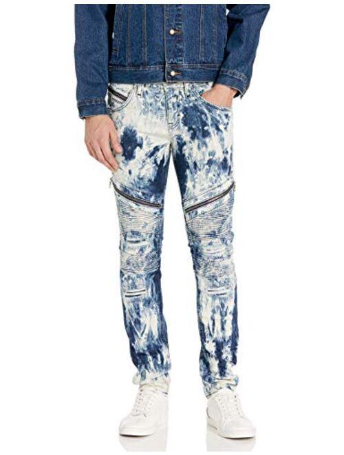 Rock Revival Men's Daviday S208 Skinny Leg Jean