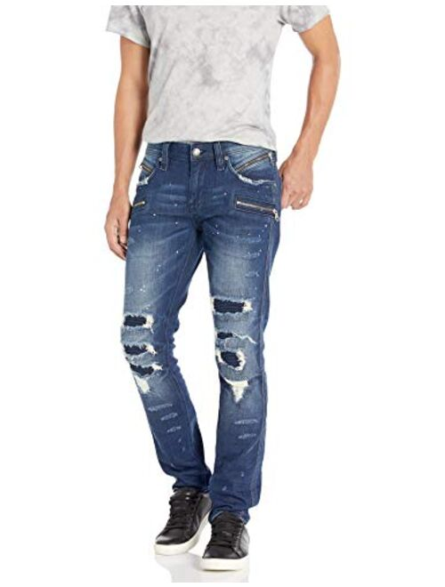 Rock Revival Men's Vaclars 203 Skinny Leg Jean
