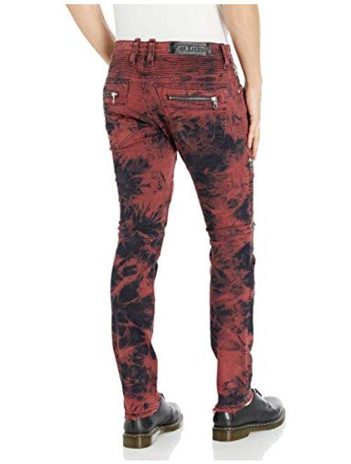 Rock Revival Men's Daviday S205 Skinny Leg Jean