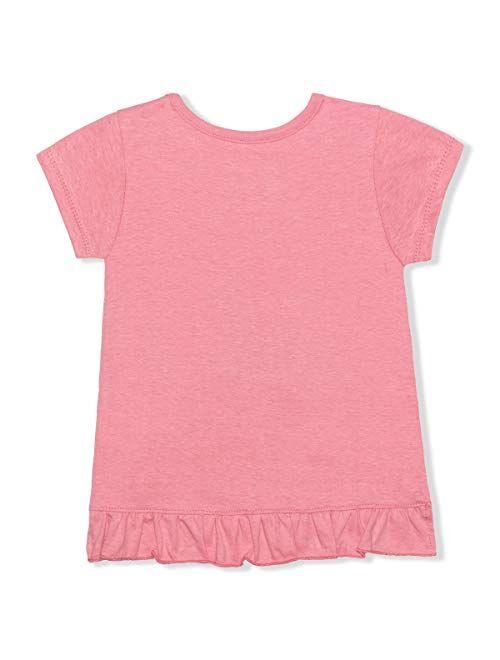 Disney Girl's 2 Pack Lilo and Stitch Short Sleeves Tee Shirt Set, Kid's Shirt Bundle