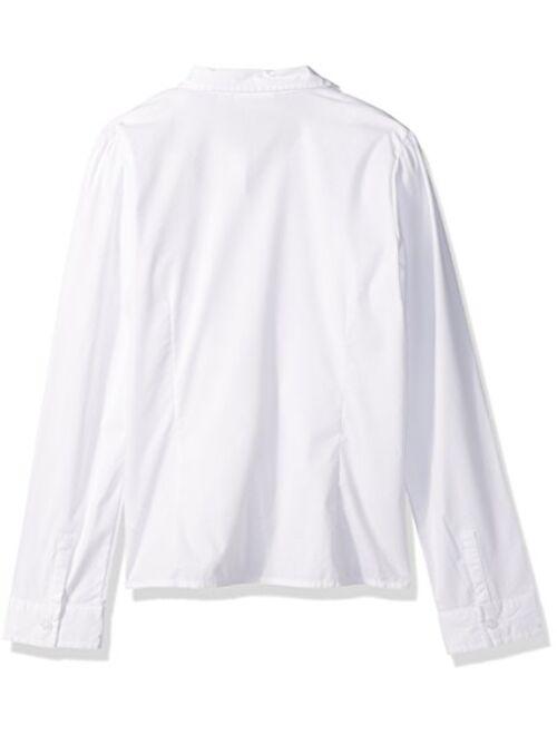 The Children's Place Girls' Uniform Long Sleeve Blouse