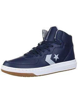 Unisex-adult Rival Leather Mid Top Sneaker