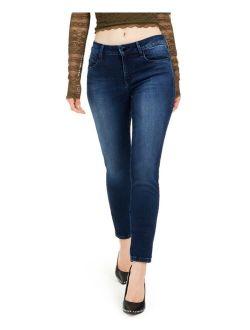 Denim Mid-Rise Skinny Jeans