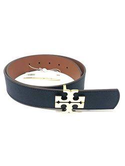Women's Reversible Logo Saffiano Leather Belt