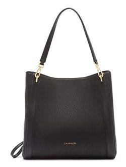 Ellie Novelty Large Triple Compartment Shoulder Bag