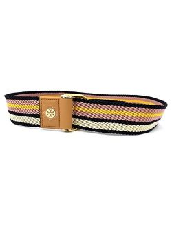 70425-974 Multicolored Striped Women's Web Belt