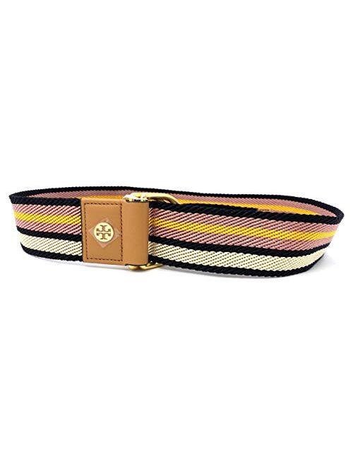 Tory Burch 70425-974 Multicolored Striped Women's Web Belt