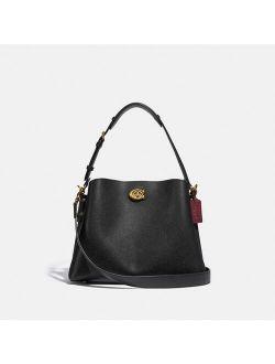 Willow Leather Shoulder Bag