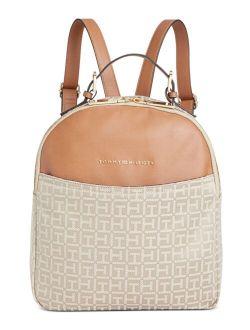 Hazel Jacquard Dome Backpack