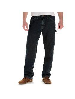 & Tall Lee® Dungarees Flex-waist Carpenter Jeans
