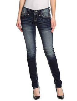 - Womens Glorea S203 Skinny Jeans
