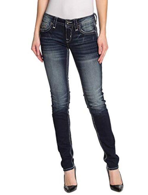 Rock Revival - Womens Daray S202 Skinny Jeans