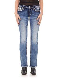 - Womens Peach Bud B202 Bootcut Jeans